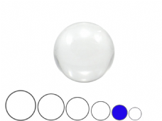 Jac Products Clear 70mm Acrylic Contact Ball